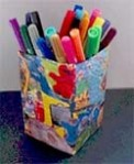 Recycled Pen Container
